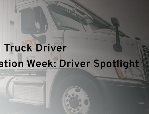 National Truck Driver Appreciation Week: Driver Spotlight