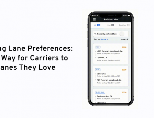 Introducing Lane Preferences: An Easier Way for Carriers to Find, Book, and Save the Lanes They Love